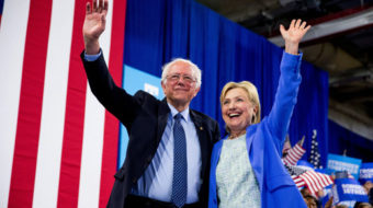 Sanders to supporters: Work for Hillary Clinton