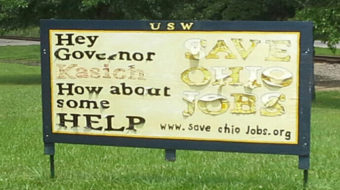 Ohio's GOP governor ignores pleas of 3,000 fired Ormet workers