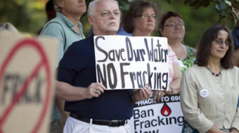 Fracking site unleashes radioactive water into Pa. creek
