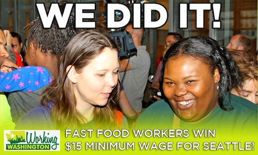 Seattle makes history: Council OKs $15 minimum wage