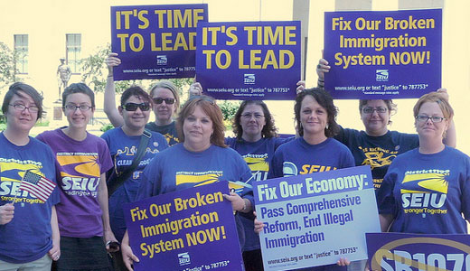 Service Employees plan massive response to GOP's immigrant bashing