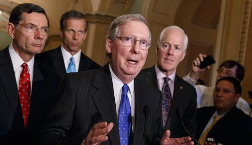 Nightmare begins as GOP takes over Senate