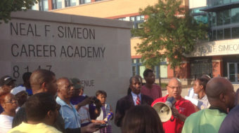 Despite parent protest, Simeon closes electricity-training class