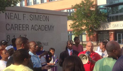 Despite parent protest, Simeon closes electricity-training class
