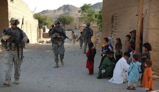 No U.S. bases in Afghanistan!