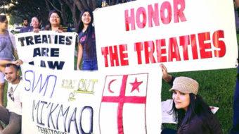 Mi'kmaw nation fights fracking on sovereign land