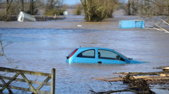 Weathering the floods in England