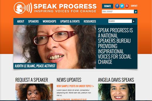 """Speak Progress"" activists coming to a venue near you"