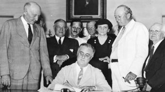 On Day One, GOP Congress takes the axe to Social Security