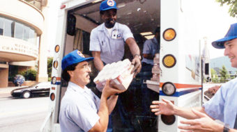 Letter carriers kick off publicity for 20th annual food drive