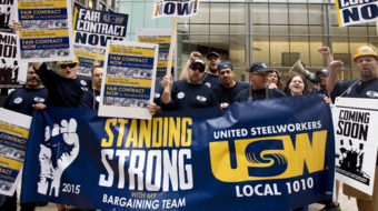Video: Steelworkers fight for a fair deal