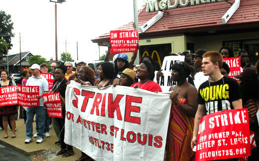 """Fast food workers plan civil disobedience as employers """"freak out"""" over NLRB ruling"""