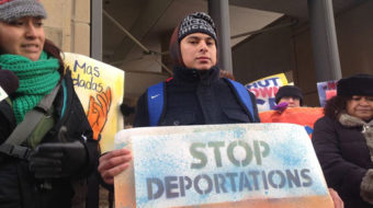 Day Laborers demand an end to deportations