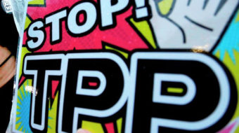 On the trans-pacific partnership, we have to educate
