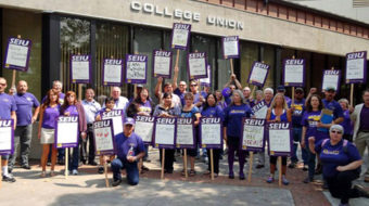 University workers call off strike