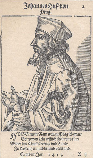 Today in history: Jan Hus burned at the stake 600 years ago