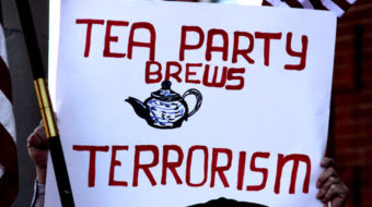 Support for the tea party weakens