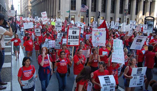 """Chicago teachers: """"Assault on public education needs to end here"""""""