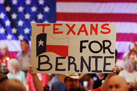 Bernie Sanders uses signatures, not money, to get on Texas ballot