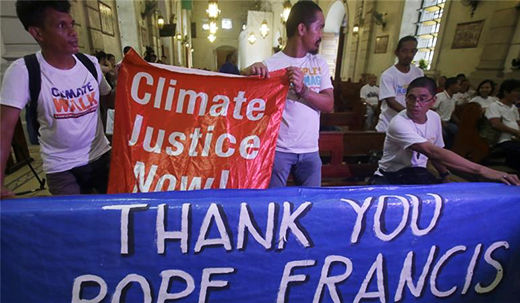 The Pope tackles climate change in new encyclical