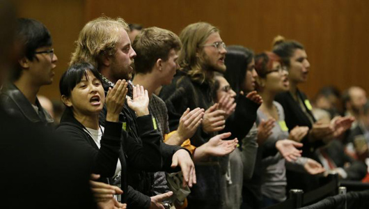 """""""Low-cost, high quality"""" public education at stake in Calif. tuition debate"""