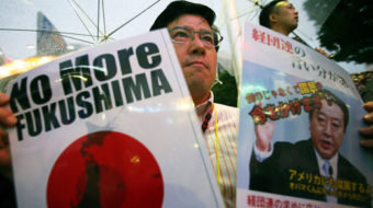 In Japan, thousands protest nuclear power