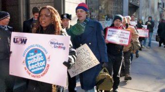 UK general strike gets U.S. solidarity (with video)