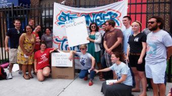 Philadelphia charter school teachers rally for unionization