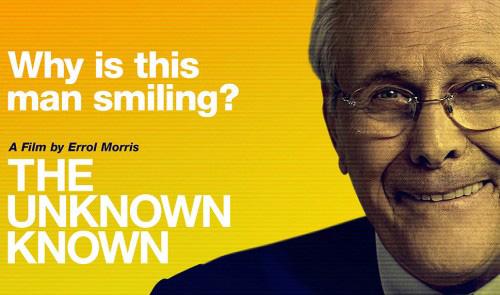 """""""The Unknown Known"""" grills Donald Rumsfeld on Iraq war snow job"""