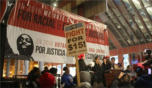 Workers unite across the nation in the Fight for 15