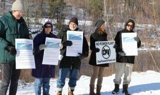 Connecticut activists gather to prevent a climate crime