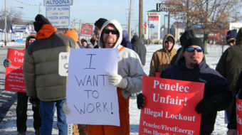 First Energy: Locks out workers, blacks out customers