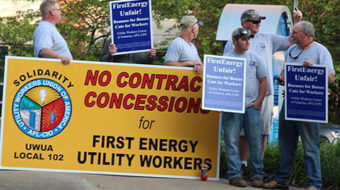Utility workers say job-killing FirstEnergy could cause another big blackout