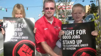 Workers across the country slam Verizon for refusing to talk
