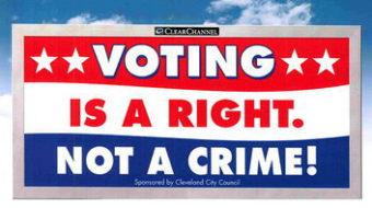 Voter suppression billboards coming down
