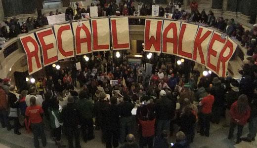 Wisconsin workers end Walker control of Senate