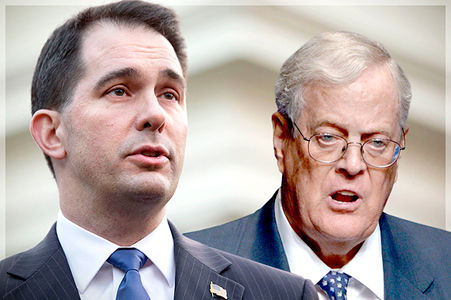 Citizens United enabling Koch brothers to take over America?