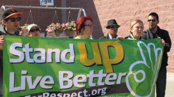 California labor moves to halt Walmart abuse