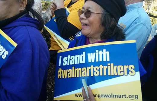 Walmart workers: When we fight, we win!