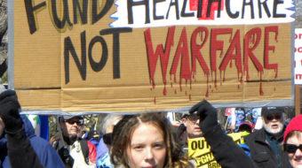 Demand Congress cut the military budget