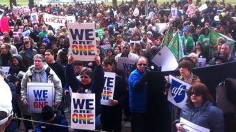 Union leaders hail high court's marriage equality ruling