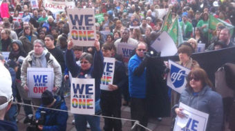 Pride at Work protests gay group's endorsement of Walmart