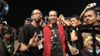 Indonesia elects working-class metalhead president