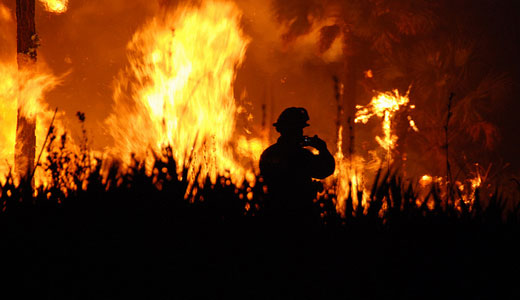 2012 hottest U.S. year ever, warming and wildfires continue