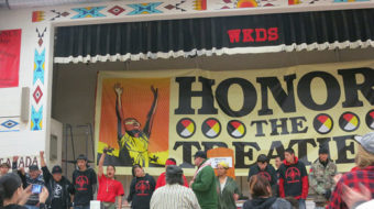"""Keystone XL pipeline means """"death"""" for Native Americans"""