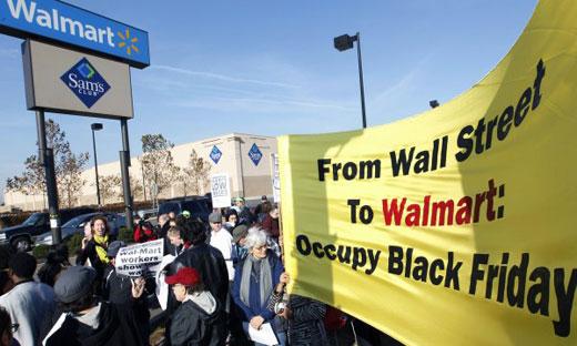 Black Friday Walmart strike wave already underway