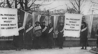 Today in women's history: Suffrage supporters march in D.C