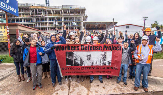 Unions-workers' centers unity results in wage and safety wins
