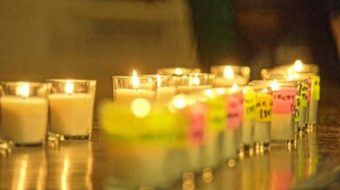 Conn. vigil remembers slain youth