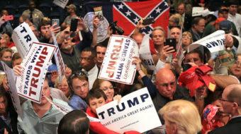 Defeat Trump, defeat racism